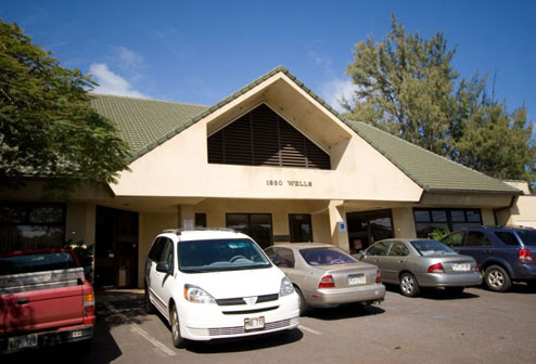 Dental office at 1830 Wells St, Wailuku Maui