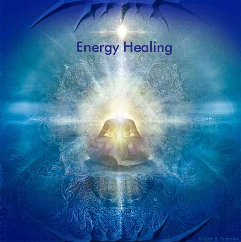 Energy Healing painting by Daniel B Holeman