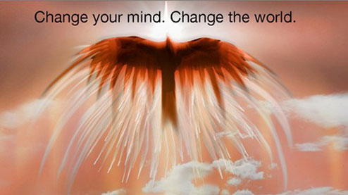 Change your mind. Change the world