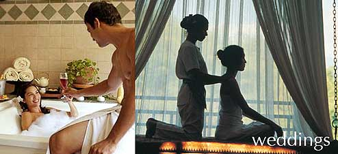 Special wedding treatments